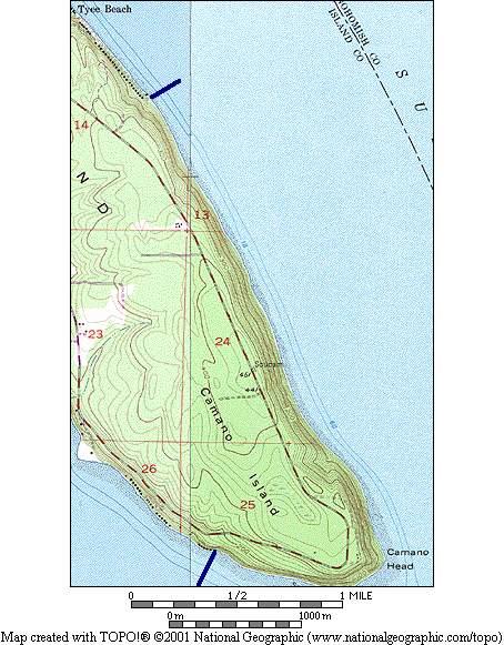 South End Camano Island