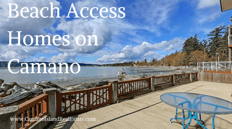 Beach Access Homes on Camano Island