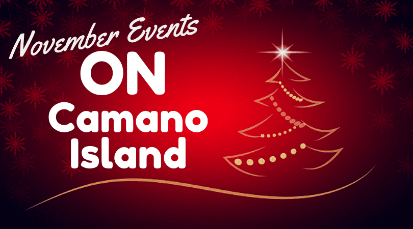 November Events on Camano Island 2018