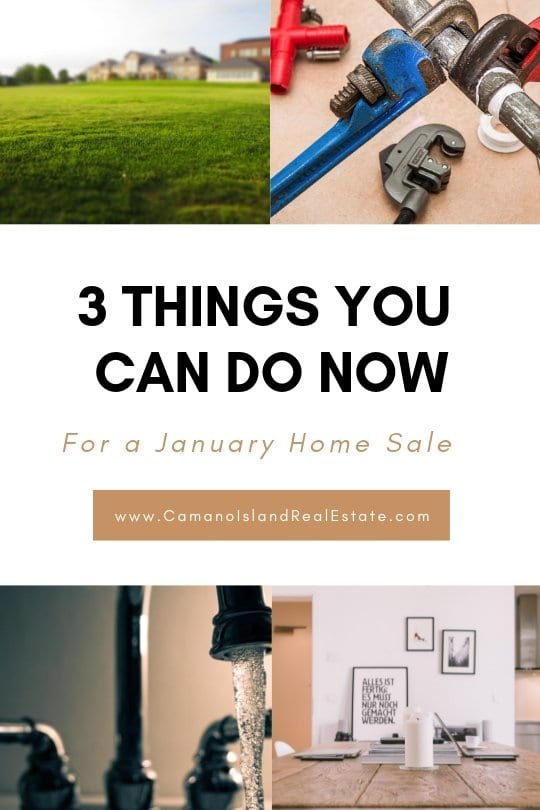 3 Things You Should Do Now to Sell in January