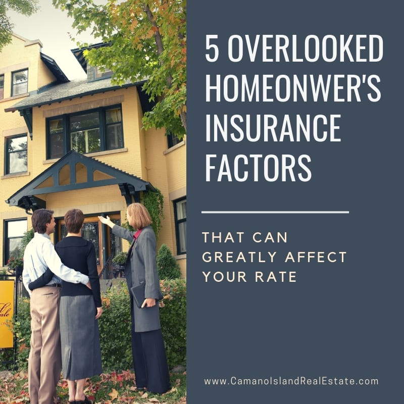 5 Things That Can Affect Your Homeowners Insurance Rate