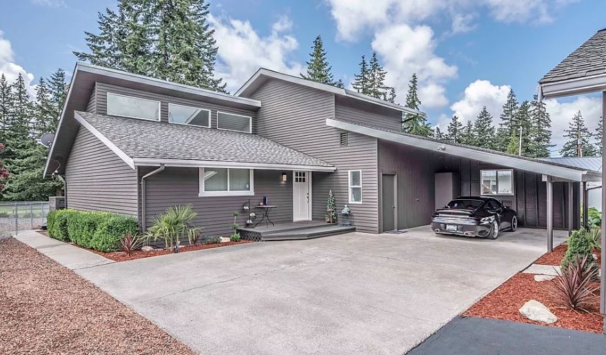 Golf Homes on Camano ISland