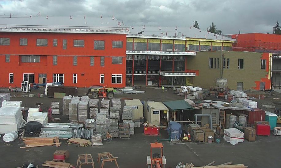 Stanwood High School Halfway Completed
