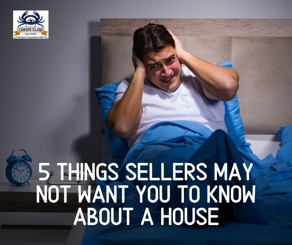 5 Things Sellers May Not Want you to Know About a House