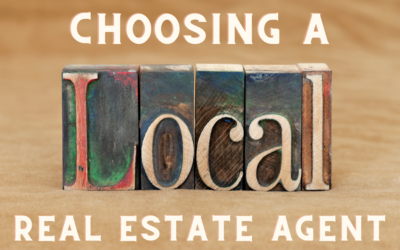 Why Choosing a Local Real Estate Agent is the Best Agent