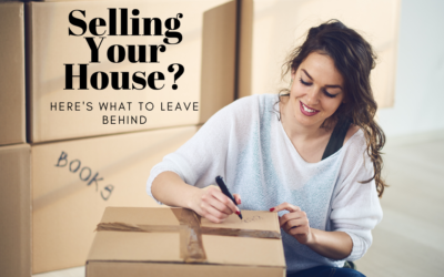 Selling Your House? Here's What to Leave Behind